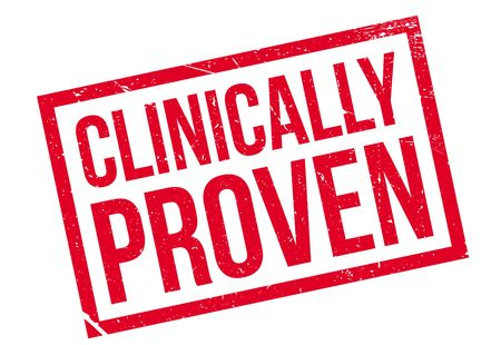 clinically: Clinically Proven rubber stamp. Grunge design with dust scratches. Effects can be easily removed for a clean, crisp look. Color is easily changed.