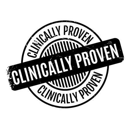 analysed: Clinically Proven rubber stamp. Grunge design with dust scratches. Effects can be easily removed for a clean, crisp look. Color is easily changed.