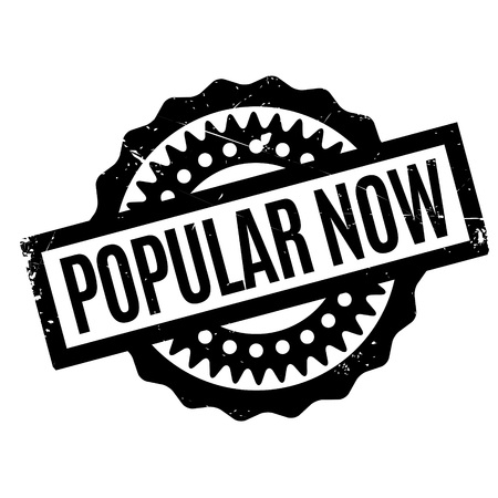 Popular Now rubber stamp