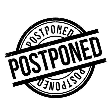 owe: Postponed rubber stamp