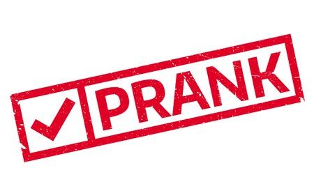 prank: Prank rubber stamp