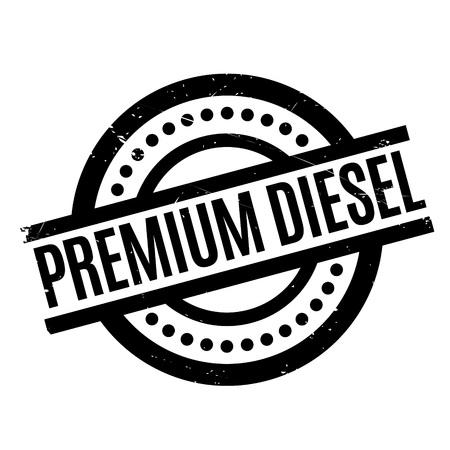 Premium Diesel rubber stamp Illustration