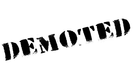 laid off: Demoted rubber stamp. Grunge design with dust scratches. Effects can be easily removed for a clean, crisp look. Color is easily changed.
