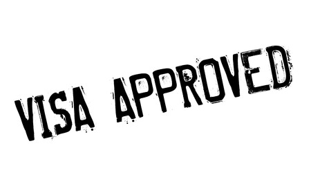 confirmed verification: Visa Approved rubber stamp. Grunge design with dust scratches. Effects can be easily removed for a clean, crisp look. Color is easily changed.