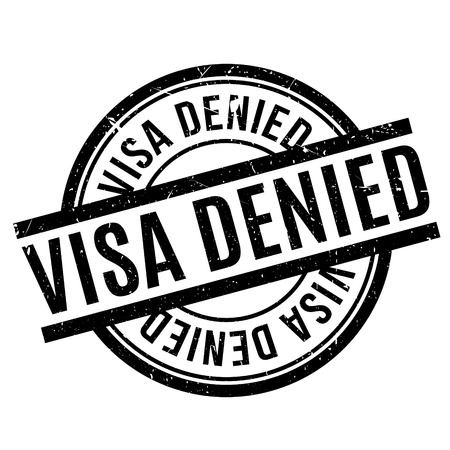 confirmed verification: Visa Denied rubber stamp. Grunge design with dust scratches. Effects can be easily removed for a clean, crisp look. Color is easily changed.