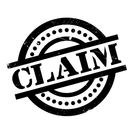 unsafe: Claim rubber stamp. Grunge design with dust scratches. Effects can be easily removed for a clean, crisp look. Color is easily changed.