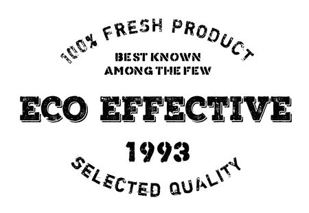 operative: Eco effective stamp. Grunge design with dust scratches. Effects can be easily removed for a clean, crisp look. Color is easily changed.