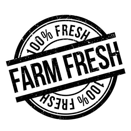 subdue: Farm fresh stamp. Grunge design with dust scratches. Effects can be easily removed for a clean, crisp look. Color is easily changed.