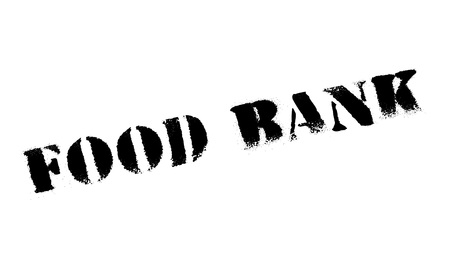 chow: Food bank stamp. Grunge design with dust scratches. Effects can be easily removed for a clean, crisp look. Color is easily changed. Illustration