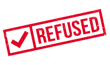 not permitted: Refused rubber stamp. Grunge design with dust scratches. Effects can be easily removed for a clean, crisp look. Color is easily changed.
