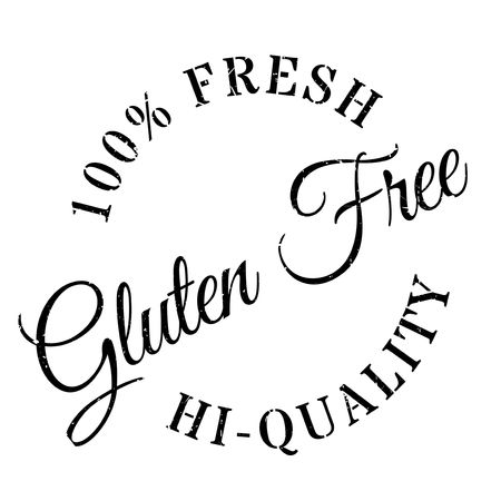spelt: Gluten free stamp. Grunge design with dust scratches. Effects can be easily removed for a clean, crisp look. Color is easily changed. Illustration