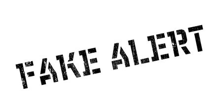 forewarn: Fake Alert rubber stamp. Grunge design with dust scratches. Effects can be easily removed for a clean, crisp look. Color is easily changed. Illustration