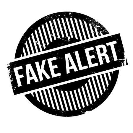 circumspect: Fake Alert rubber stamp. Grunge design with dust scratches. Effects can be easily removed for a clean, crisp look. Color is easily changed. Stock Photo