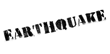 richter: Earthquake rubber stamp. Grunge design with dust scratches. Effects can be easily removed for a clean, crisp look. Color is easily changed.