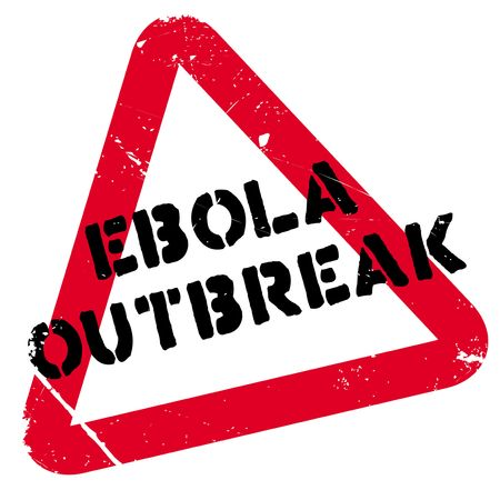 hemorrhagic: Ebola Outbreak rubber stamp. Grunge design with dust scratches. Effects can be easily removed for a clean, crisp look. Color is easily changed.