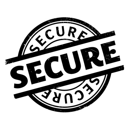 trespass: Secure rubber stamp. Grunge design with dust scratches. Effects can be easily removed for a clean, crisp look. Color is easily changed. Stock Photo