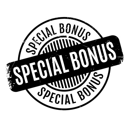 bonus: Special Bonus rubber stamp