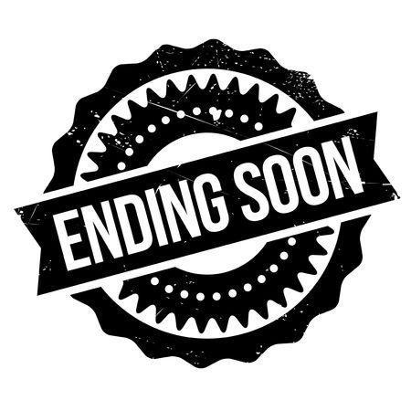 Ending soon stamp