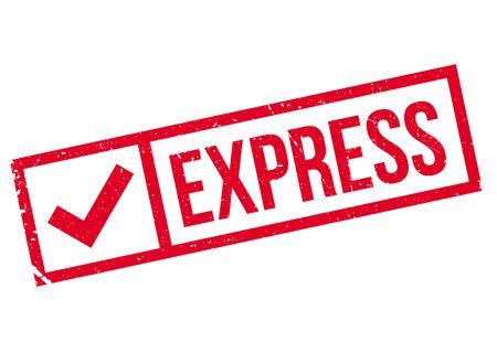 highspeed: Express stamp rubber grunge Illustration