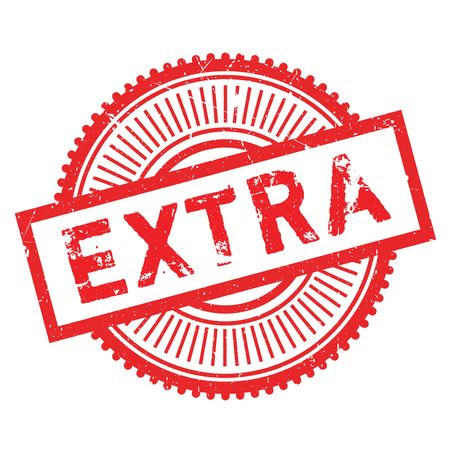 Extra stamp rubber grunge