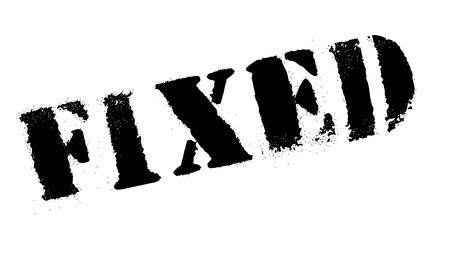 clavados: grunge sello de goma fijo