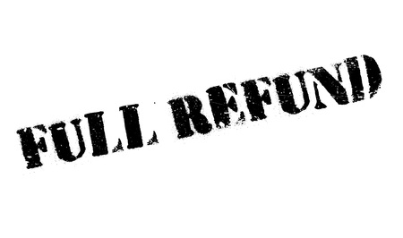 remuneration: Full refund stamp