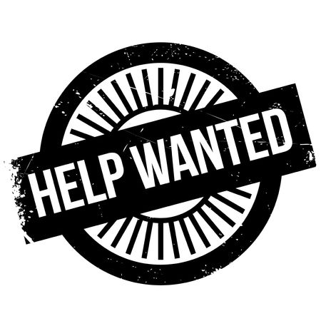 appreciated: Help wanted stamp
