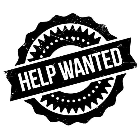 Help wanted stamp