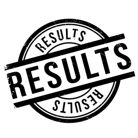 fruition: Results stamp rubber grunge Illustration