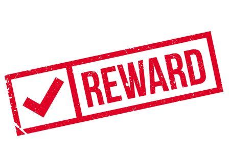 retribution: Reward stamp rubber grunge