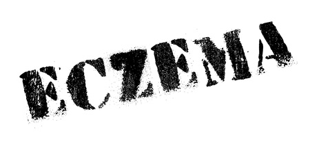 itchy: Eczema rubber stamp. Grunge design with dust scratches. Effects can be easily removed for a clean, crisp look. Color is easily changed.