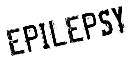 psychosocial: Epilepsy rubber stamp. Grunge design with dust scratches. Effects can be easily removed for a clean, crisp look. Color is easily changed.