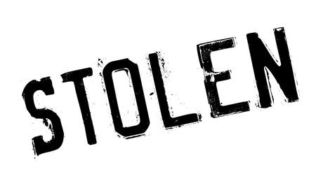 robo: sello de goma robado. Diseño de Grunge con los rasguños polvo. Los efectos se pueden quitar fácilmente para una apariencia limpia y nítida. En color se cambia fácilmente.