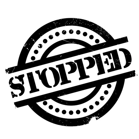 blockade: Stopped rubber stamp. Grunge design with dust scratches. Effects can be easily removed for a clean, crisp look. Color is easily changed.