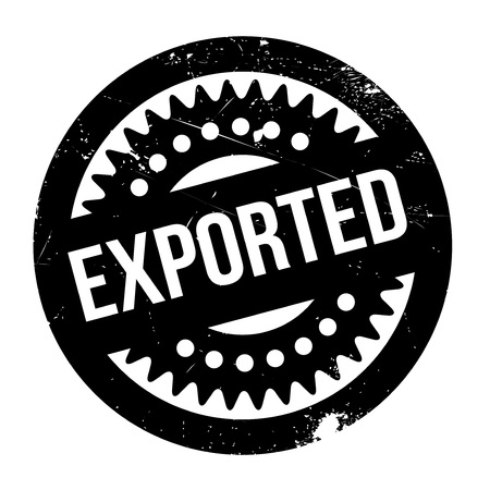 exported: Exported rubber stamp