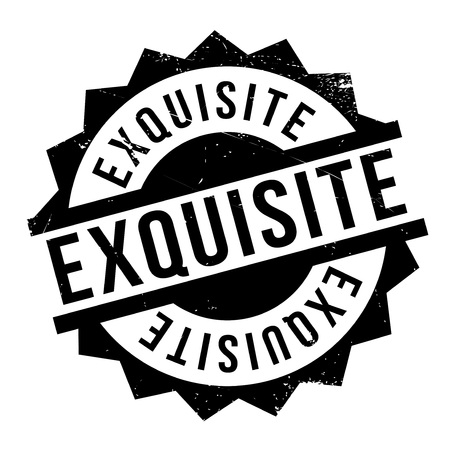 discriminating: Exquisite rubber stamp