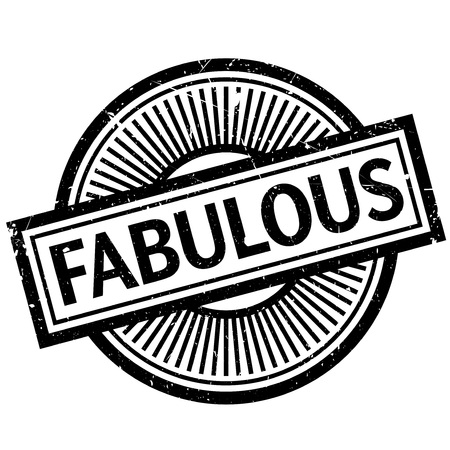 outrageous: Fabulous rubber stamp