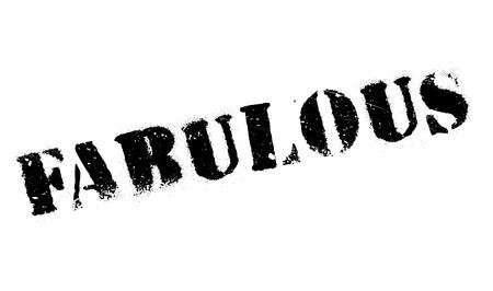 fabulous: Fabulous rubber stamp
