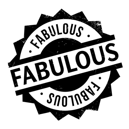 stupendous: Fabulous rubber stamp