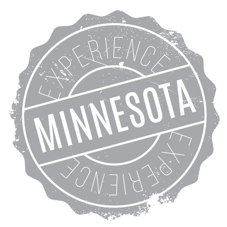gopher: Minnesota stamp rubber grunge