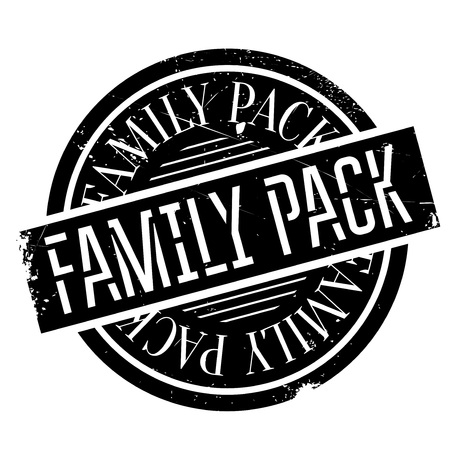 lineage: Family Pack rubber stamp Illustration