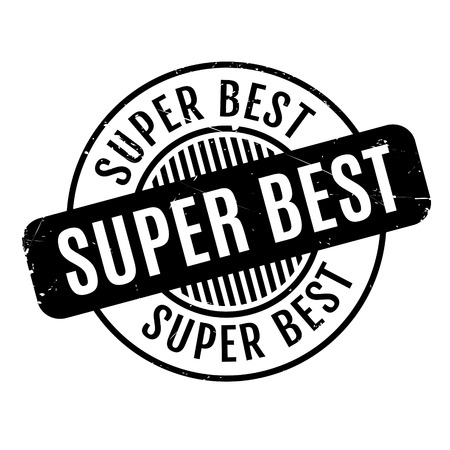 sensational: Super Best rubber stamp. Grunge design with dust scratches. Effects can be easily removed for a clean, crisp look. Color is easily changed.