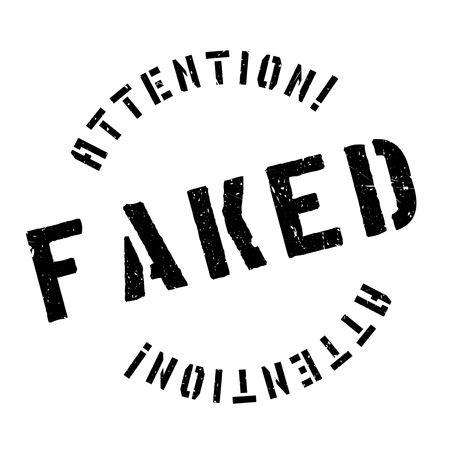 counterfeit: Faked rubber stamp. Grunge design with dust scratches. Effects can be easily removed for a clean, crisp look. Color is easily changed.