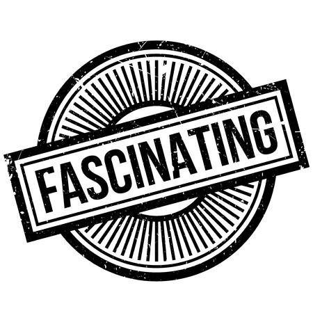 fascinated: Fascinating rubber stamp