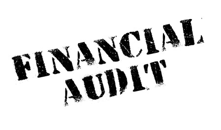checking accounts: Financial Audit rubber stamp