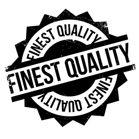 affirmation: Finest Quality rubber stamp
