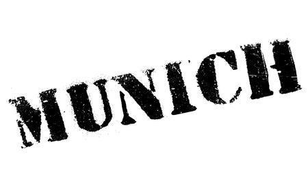 munich: Munich stamp rubber grunge