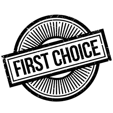First Choice rubber stamp