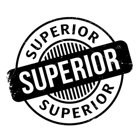 superior: Superior rubber stamp. Grunge design with dust scratches. Effects can be easily removed for a clean, crisp look. Color is easily changed.