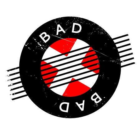 bad news: Bad rubber stamp
